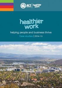 AHA features in the Healthier Work book of case studies.