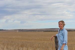 Sarah Powell the 2015 Rural Women's Award National winner.